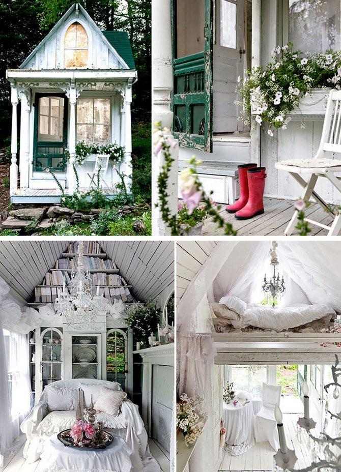 Un piccolo cottage vittoriano a New York