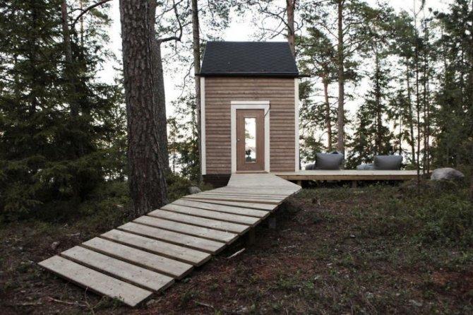 Piccola casa nel bosco