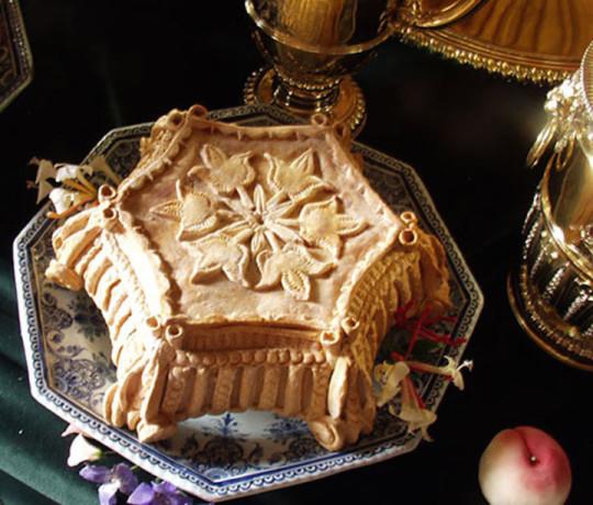 4) Torta decorativa medievale