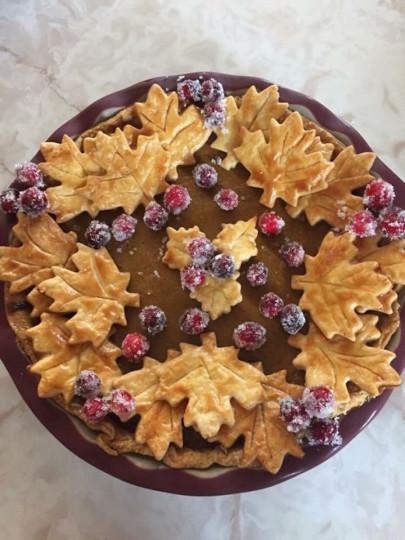 7) L'incredibile torta autunno