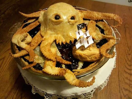 17) Torta Kraken