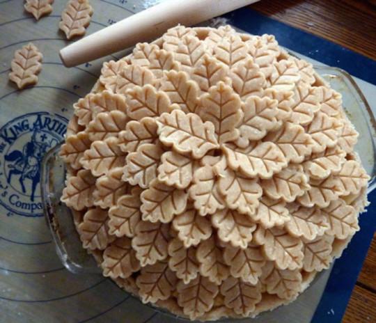 18) La torta delle foglie d'autunno