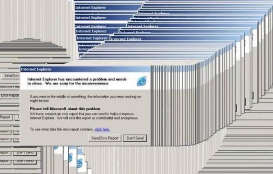 Quando il nostro PC si bloccava e iniziavamo a giocare con la finestra di errore!