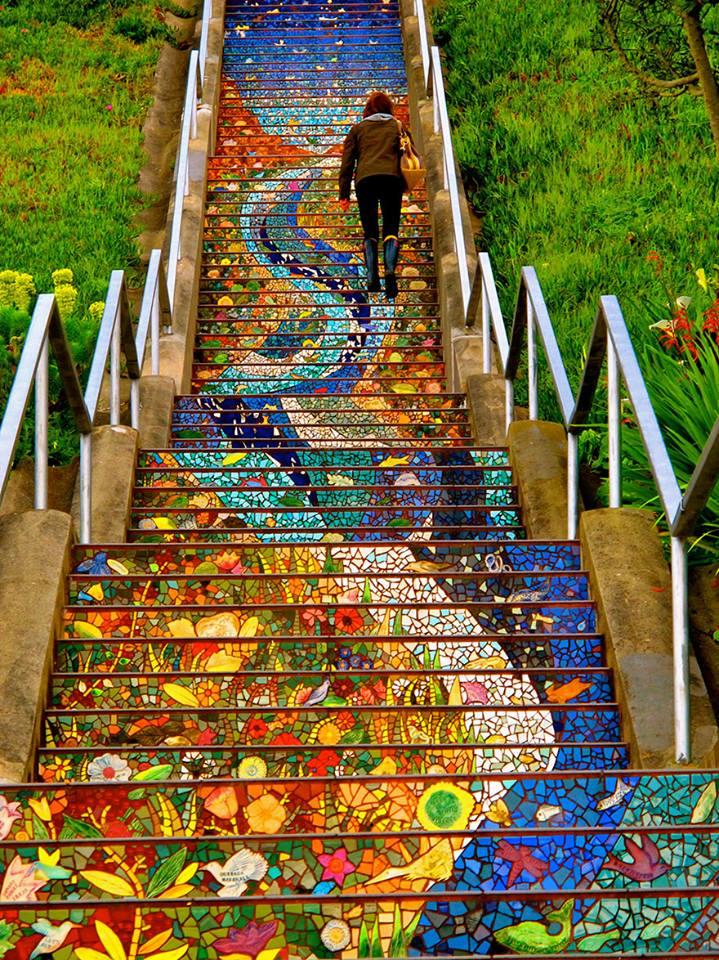 Le scale pi belle che abbiate mai potuto immaginare - Immagini di scale ...