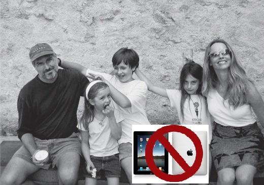 iPad Steve Jobs Figli