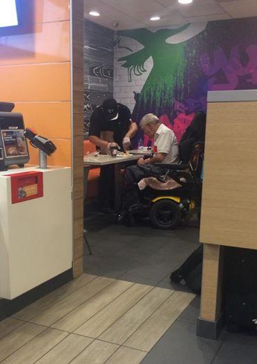 Foto Virale McDonald's