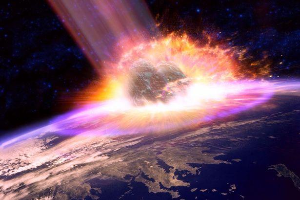 Meteorite terra settembre 2015