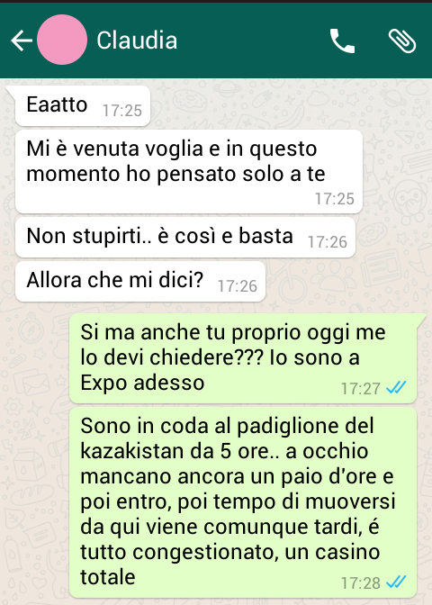 sesso con le donne chat in web