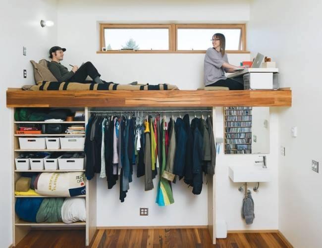 Trasformare piccole stanze 20