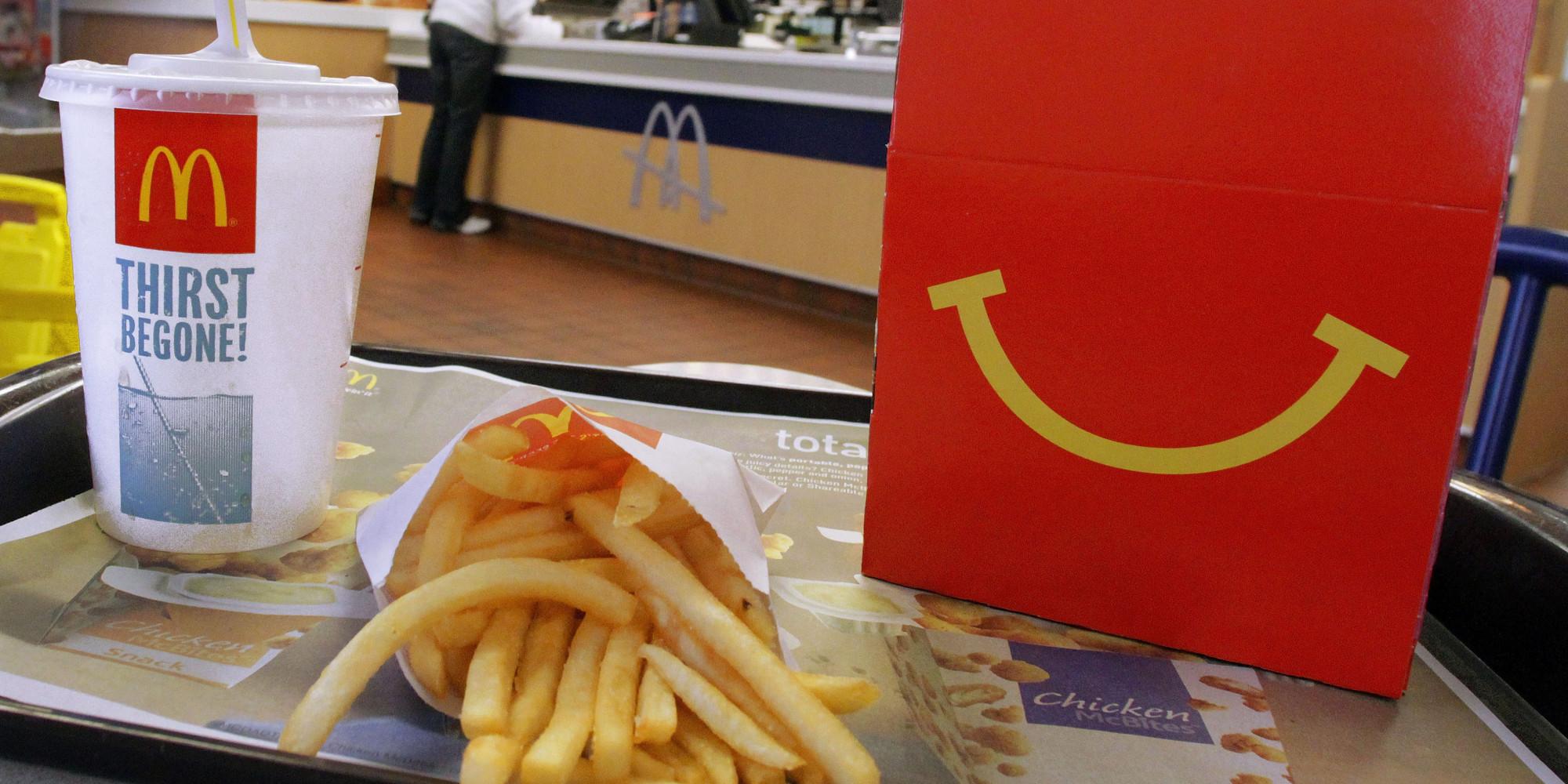 4 anni McDonald's