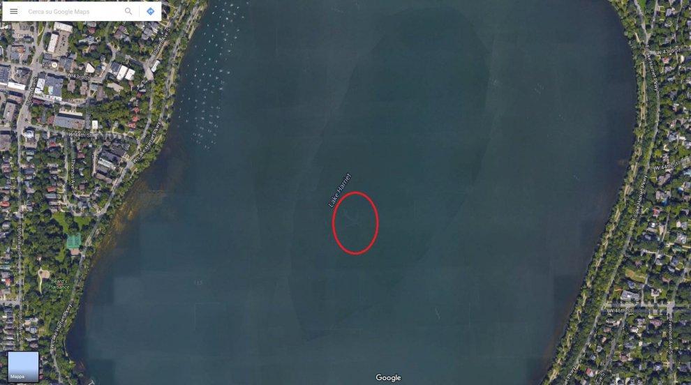 Mistero Aereo Google Earth