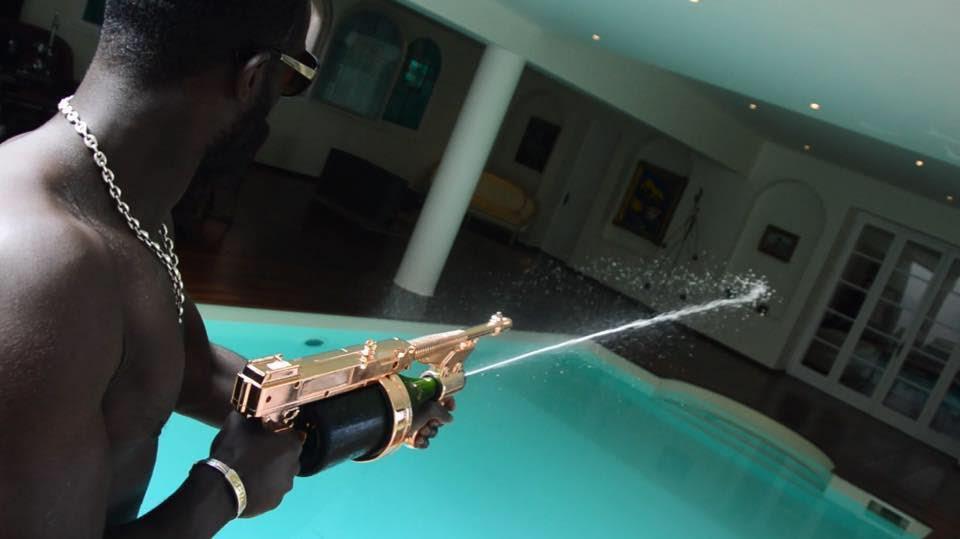 Pistola Champagne