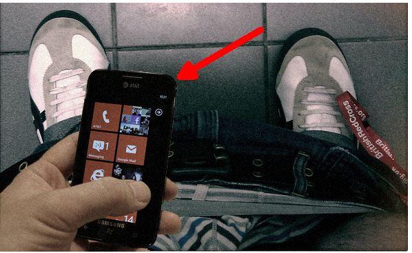 smartphone bagno