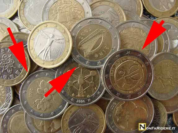 2 euro monete rare valore