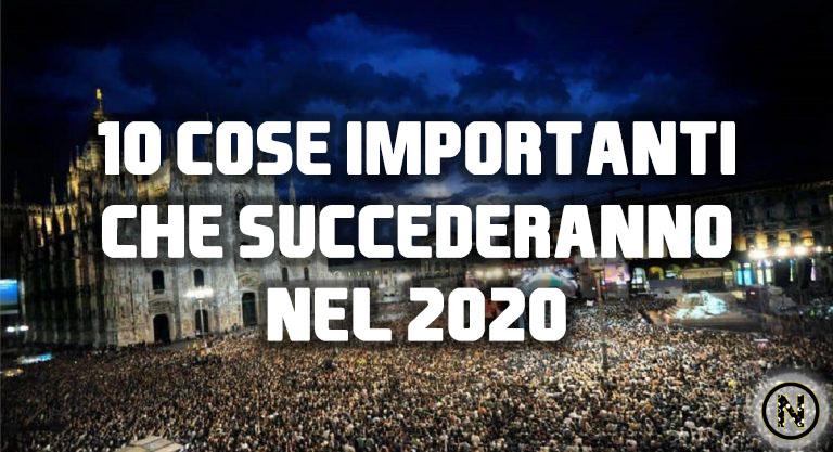 cose importanti 2020